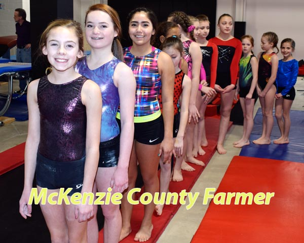 Gymnasts showcase skills at Frostbite Invite