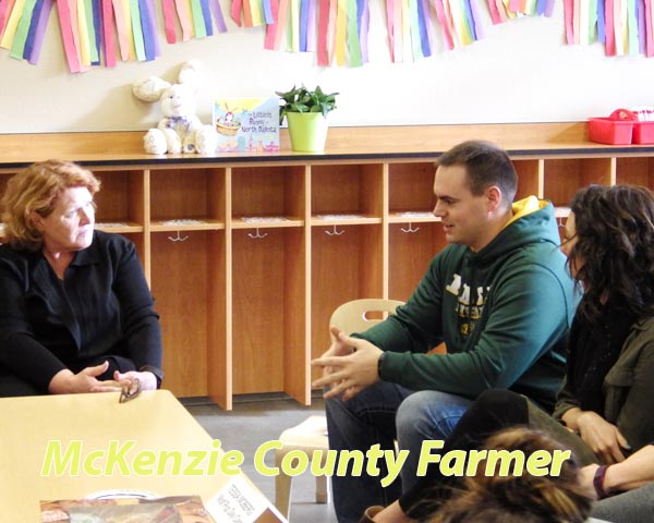 Heitkamp hears concerns of young families