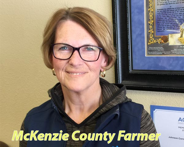 A role model in McKenzie County