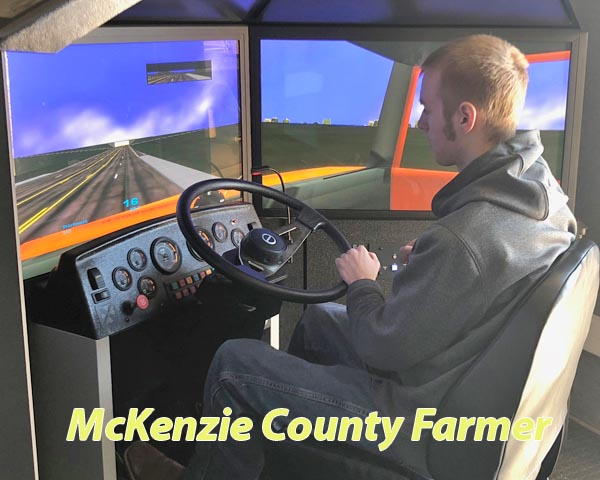 High school students train for CDL