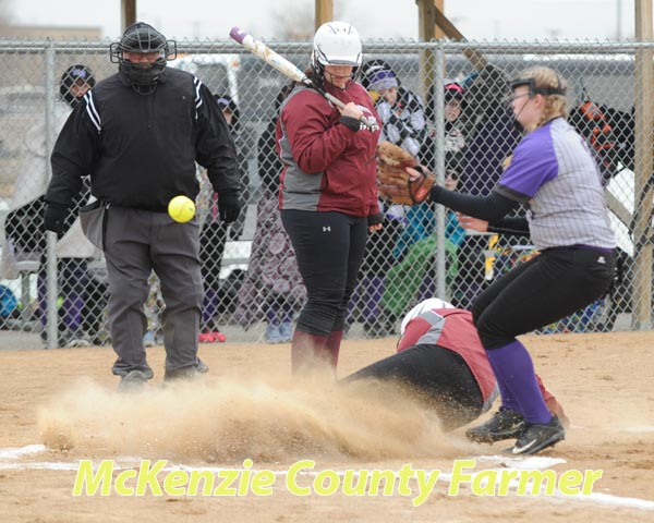 Wolves open softball season with shut-out