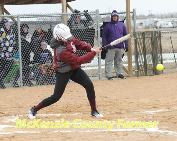 Wolves go 2-3 in softball action