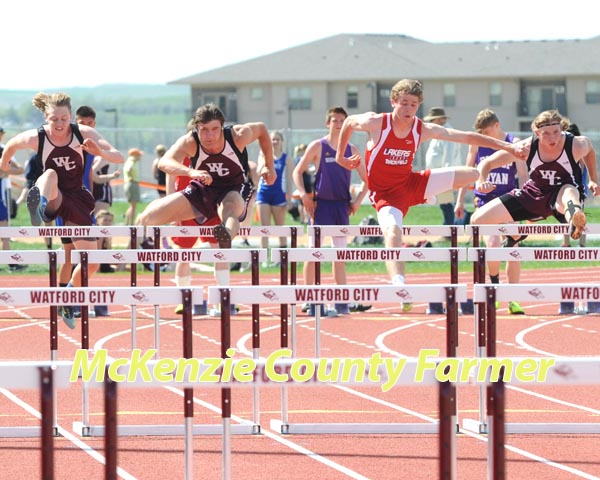 Wolves dominate at NW Conference Track Meet