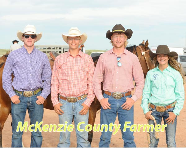 Four area teens head to national rodeo