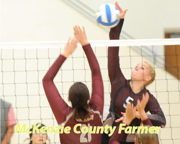 Spikers open season with wins over Divide County, Killdeer