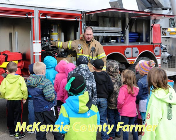 Local firemen spreading lessons about fire safety