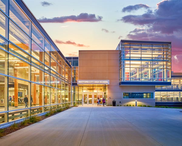High School receives AIA design award