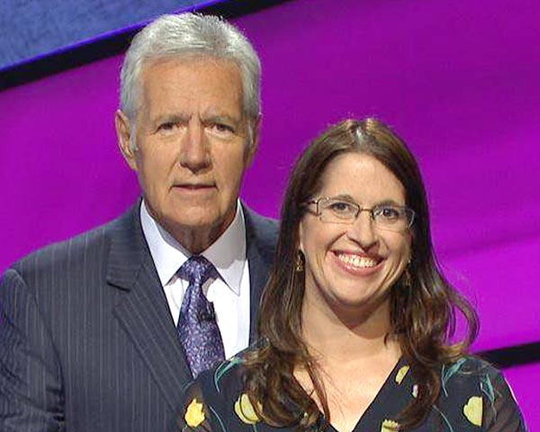 Favorite has her day on Jeopardy