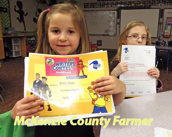 McKenzie County kids wow in PBS writing contest